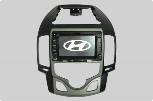 central multimídia hyundai i30 kit dvd até 2012 aikon