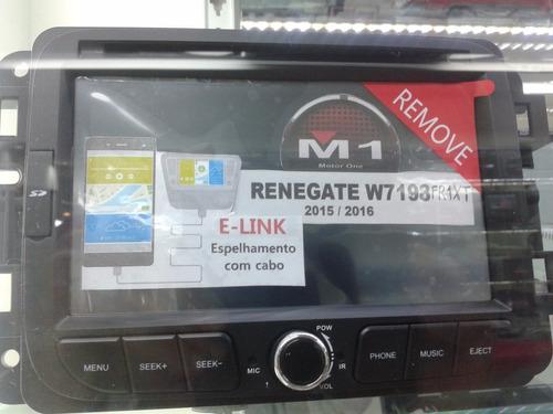 central multimídia jeep renegade toro trailhawk diesel top