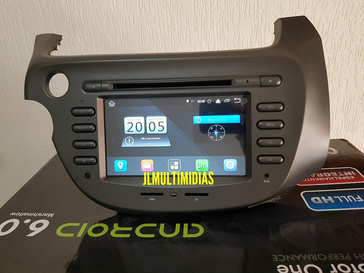 Central Multim U00eddia M1 Android 8 Honda Fit 2009 2010 2011 12