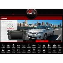 central multimídia m1 chevrolet s10 lt ltz 2014 2015 mylink