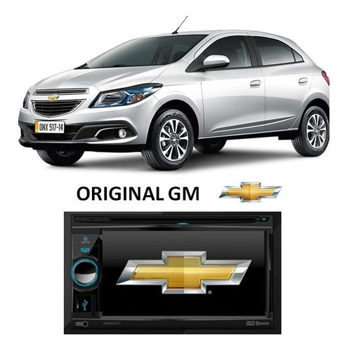 central multimídia onix dvd gps tv original gm - chevrolet