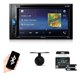Central Multimídia Pioneer Bluetooth Tv + Interface Volante