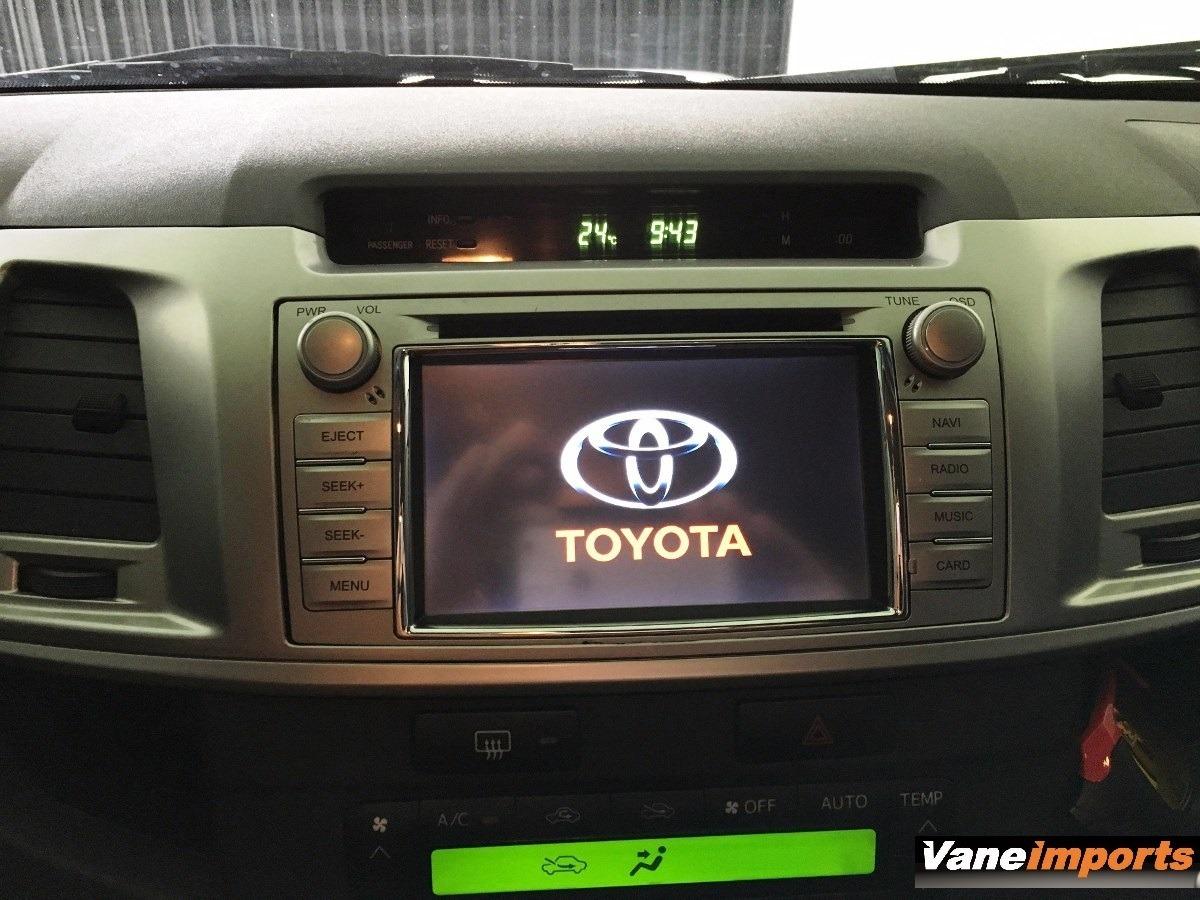 Central Multimidia Toyota Nova Hilux 2012 2013 2014 2015 M1