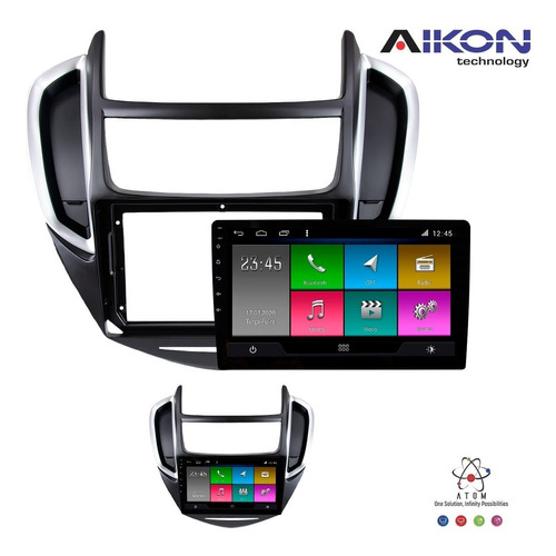 central multimidia tracker 2013 a 2016 aikon atom 9` android