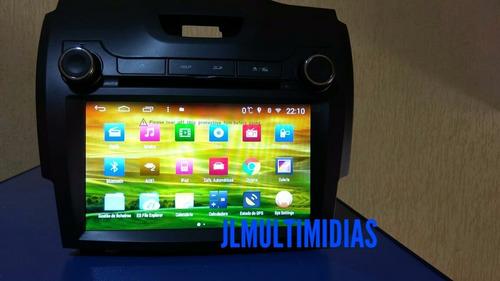 central multimídia trailblazer 2013 sem mylink s160 android