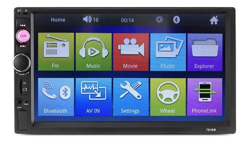 central multimídia universal mp5 bt espelhamento android boa