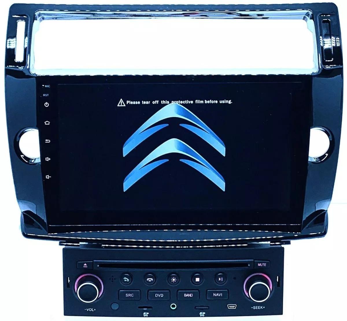 Central Multimídia Winca Rl Android 8 1 Citroen C4 Pallas