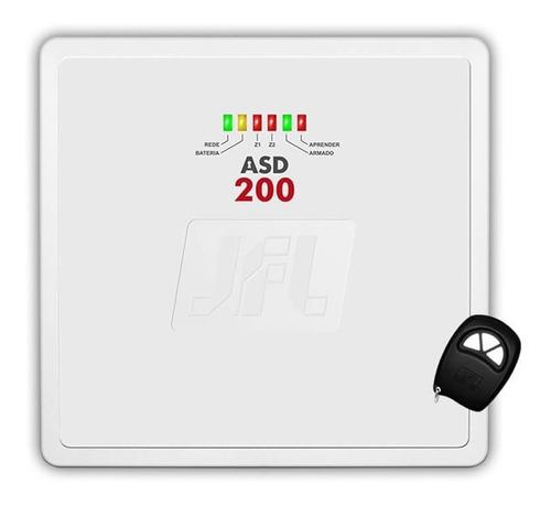 central p/ alarme jfl asd 200 com 2 zonas mistas