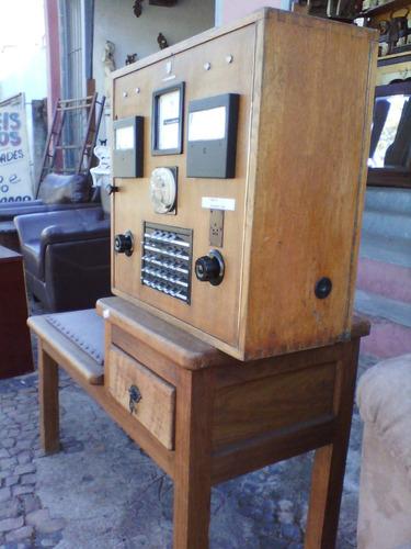 central p.a.b.x antiga . telefonia .