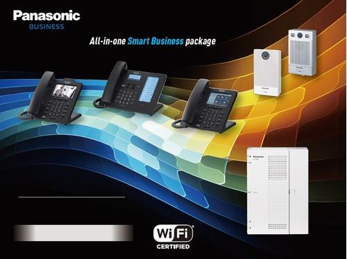 central panasonic ip kx-hts32 4x8 1 teléfono hdv230