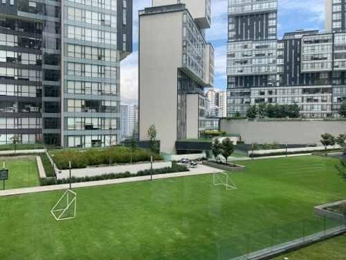 central park interlomas: exclusivo departamento doble seguridad vista panorámica