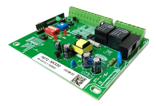 central placa de comando para portão eletrônico rossi kx30fs