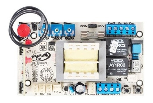 central placa eletrônica facility 4 trimpots ppa