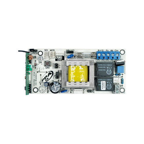 central placa motor portão eletrônico facility connect ppa