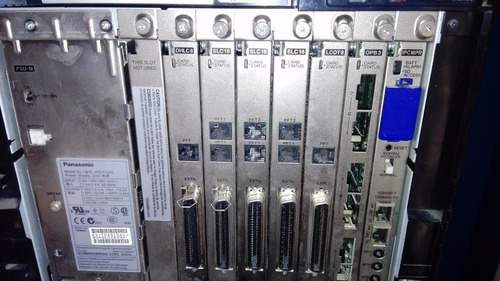 central telefonca panasonic kx-tde100 56 anexos analogicos