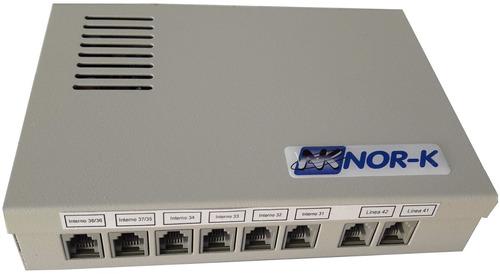 central telefónica 2 ln 8 int c/portero 2h + frente - nor-k