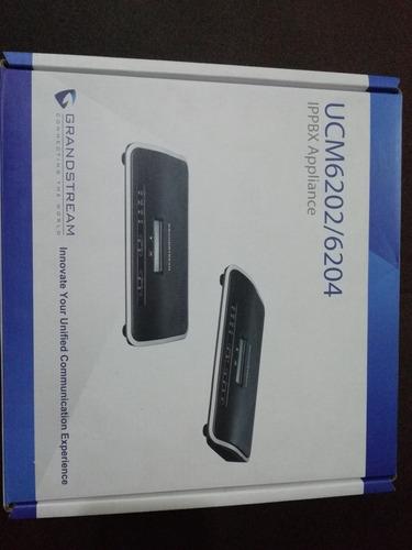 central telefónica ip grandstream ucm6202 nuevo en caja