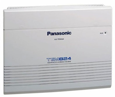 central telefonica  panasonic kxtes 824 3x8 ampliable 8x24