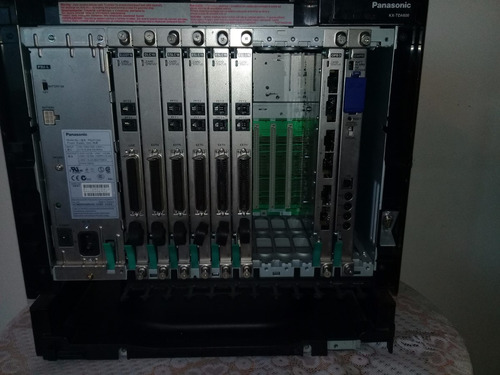 central telefonica panasonic modelo tda 600