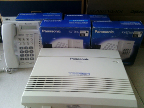 central telefonica panasonic tes 824 expandible