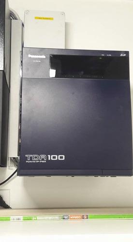 central telefonica tda 100 hibrida