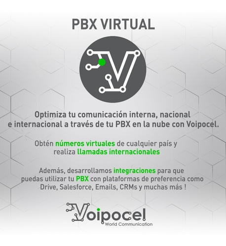 central telefónica virtual - telefonía ip - pbx virtual