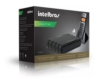 central ts 60 ip + ts 60 ipr (kit) intelbras