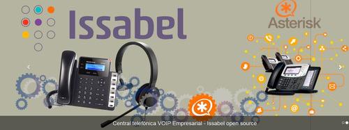 central voip asterisk elastix issabel base celular goip