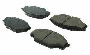 centric (105,03030) posi quiet brake almohadilla , cerámico