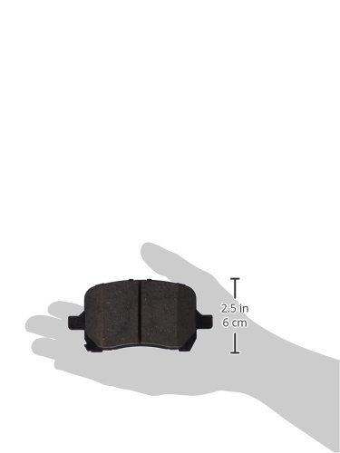 centric 105.1028 posi-quiet cerámico freno almohadilla con