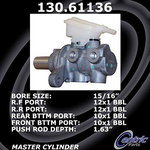 centric (130.61136) brake maestro cilindro