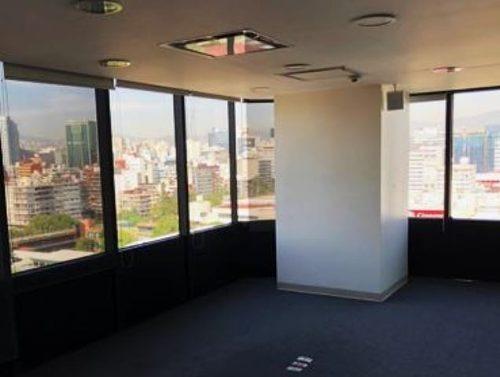 céntrica oficina ubicada en importante edificio corporativo en polanco. oficinas totalmente acondicionadas. piso 12 424.72 m2 recepción 3 privados sala de juntas área abierta para estaci
