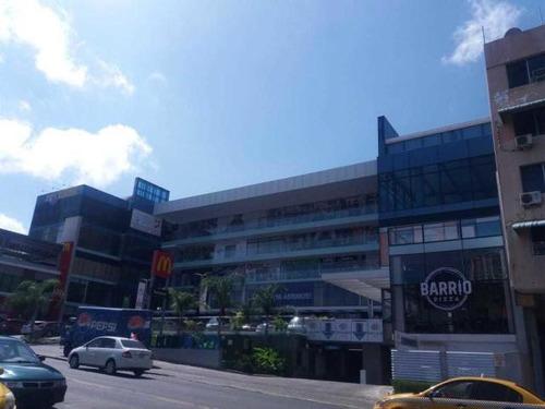 centrico local comercial alquiler en san francisco panama cv