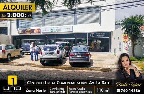 centrico local comercial sobre avenida