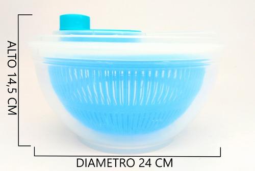 centrifugador escurridor verduras secador plástico colores