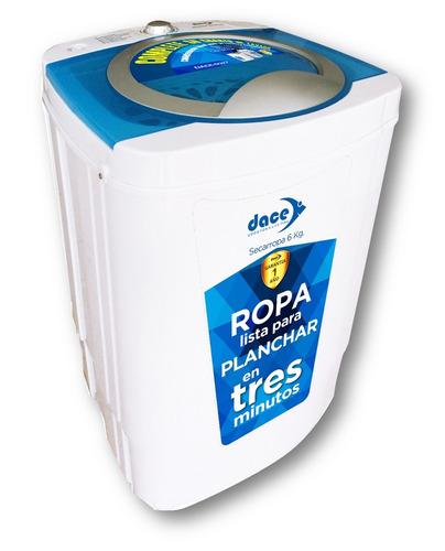 centrifugadora dace compacta 6 kg blanca mod: dace-sd27
