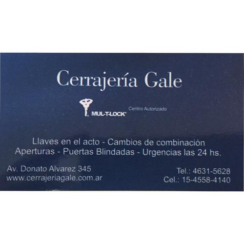 centro autorizado mul-t-lock - cerrajeria - urgencias 24hs !