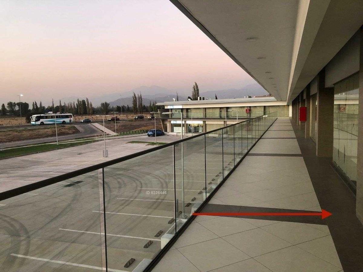centro comercial del valle. 2 meses de gracia / strip center, chicureo