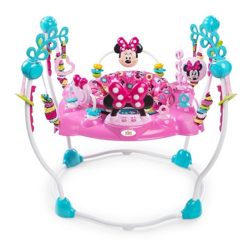 Centro De Actividades Bebe Jumper Disney Minnie Con Musica