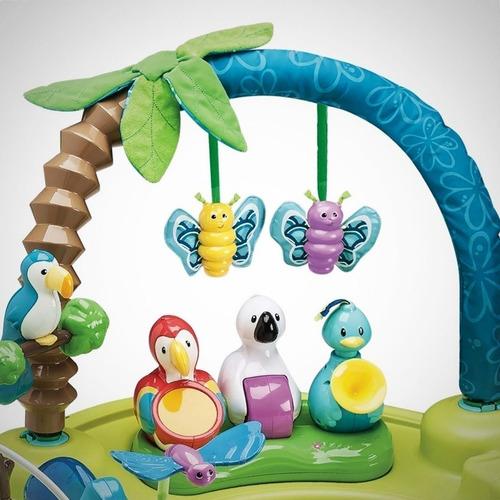 centro de actividades juego bebe evenflo exersaucer babygym