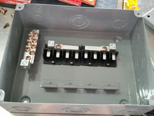centro de carga sobreponer 8 unidades argos aqod8-s