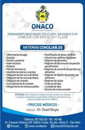 centro de conciliacion extrajudicial