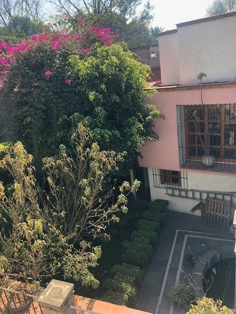 centro de coyoacán, casa catalogada, estilo colonial mexicano