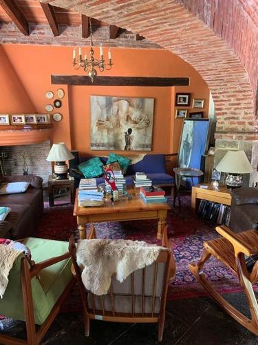 centro de coyoacán, preciosa casa estilo colonial mexicano