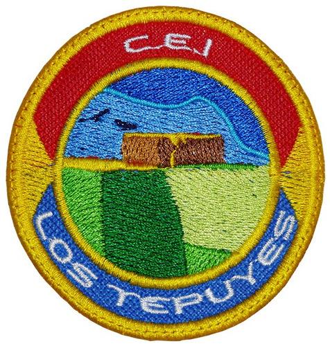 centro de edución inicial los trpuyes parchos bordados.