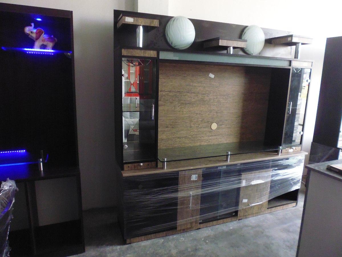 Centro de entretenimiento melamine 18mm amazonas tv 55 for Diseno de muebles para equipos de sonido