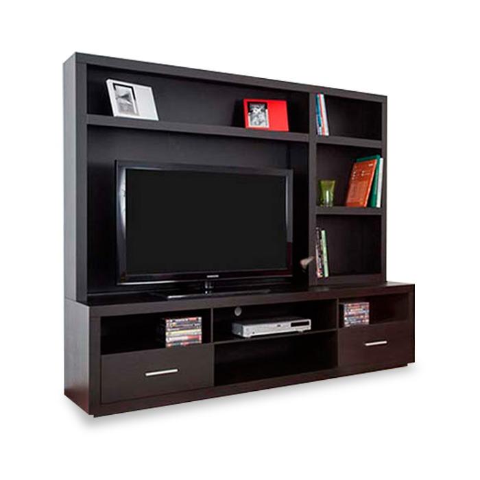 Centro de entretenimiento mod albania muebles tv para sala for Mueble de entretenimiento para sala