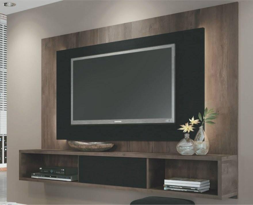 Centro De Entretenimiento Mueble Para Tv Con Luces Bs