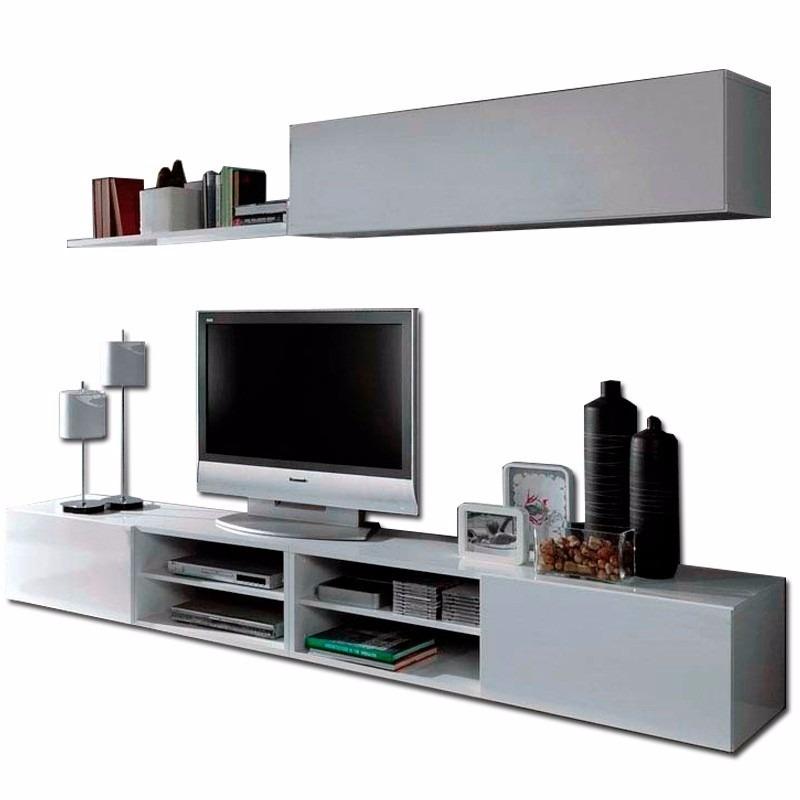 Centro de entretenimiento mueble para tv minimalista bs - Centros decorativos modernos ...