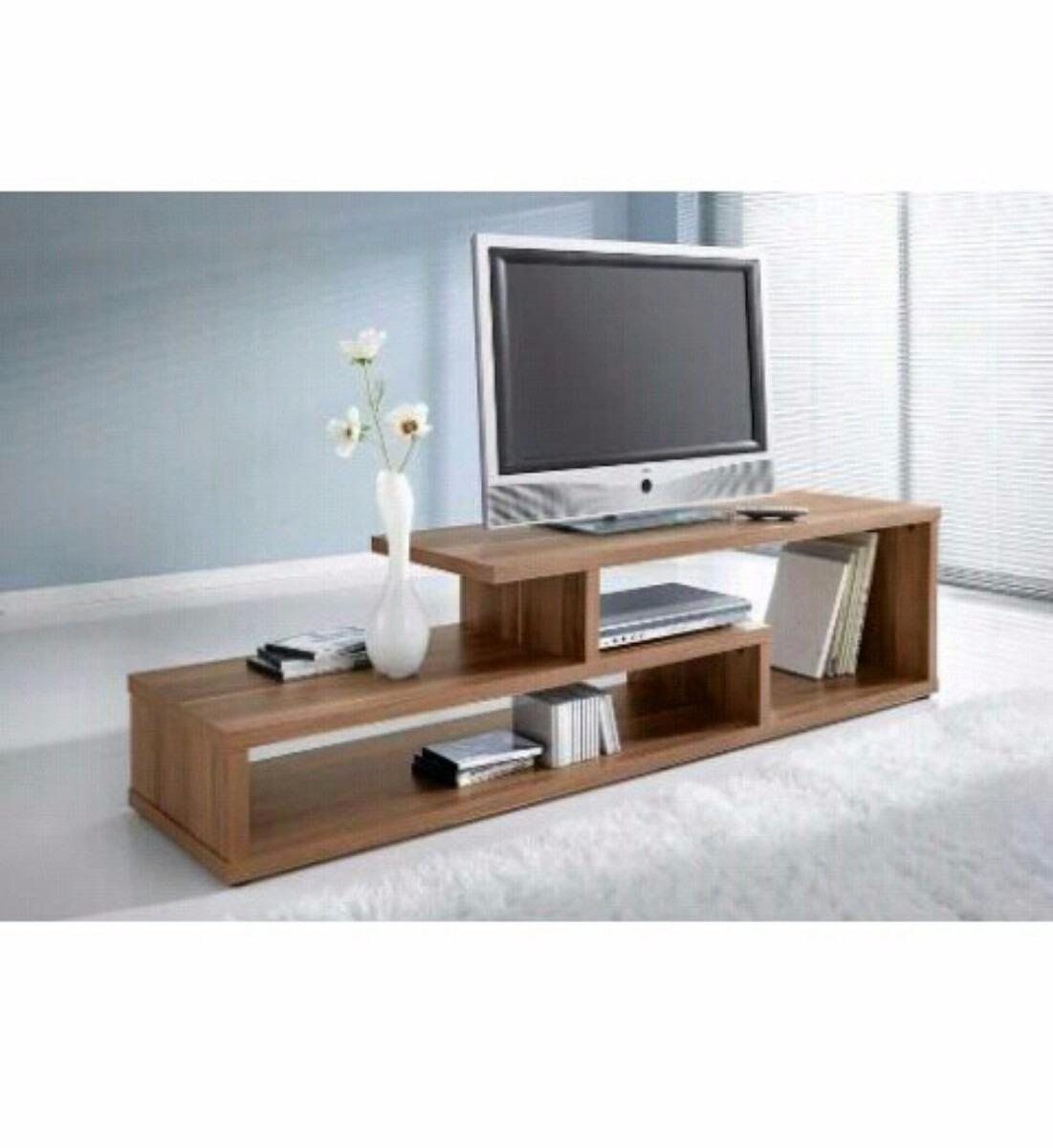 Centro de entretenimiento mueble para tv minimalista for Muebles de sala de entretenimiento